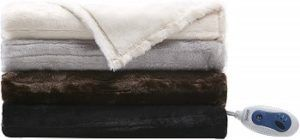Beautyrest Faux Fur Heated Throw review