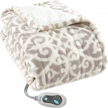 Beautyrest Heated Blanket Wrap