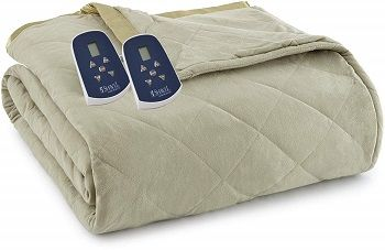ClassicMicro Flannel Electric Heated Blanket