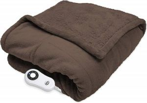 Perfect Fit Heated Snuggler Wrap Throw
