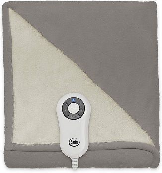 Reversible SherpaFleece Heated Electric ThrowBlanket review