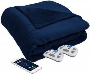 Serta Perfect Sleeper Luxury Plush Heated Blanket