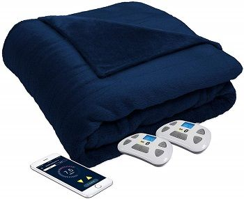 Serta Perfect Sleeper Luxury Plush Heated Blanket