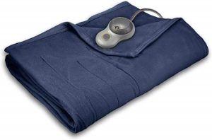 Sunbeam Quilted Fleece Warming Blanket