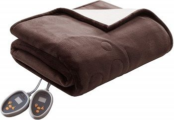 Woolrich  Electric Blanket with Two 20 Heat Level Setting Controllers