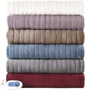 Beautyrest Oversized Plush Heated Throw review