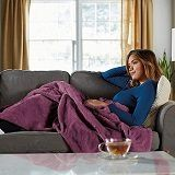 Best 5 Pink & Purple Electric Heated Blanket In 2020 Reviews