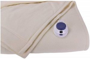 Micro Fleece Perfect Fit Electric Blanket