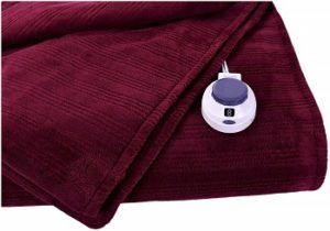 Perfect Fit's Safe Plush Heated Blanket