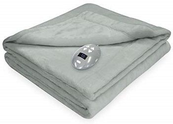 Perfect Fit Low Voltage Plush Warming Blanket