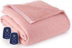 Pink Thermee Heated Blanket