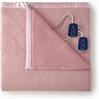 Pink Thermee Heated Blanket review