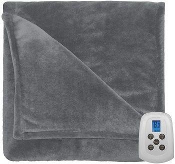 Serta Comfort Plush Heated Blanket review