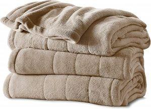 Sunbeam's Velvet Plush Blanket