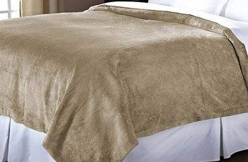 Sunbeam Oversized Heated Throw