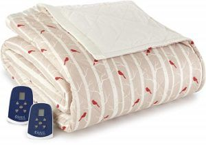 Thermee's Double Heated Flannel Blanket
