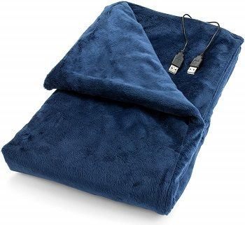 USB Heated Lap And Shawl Blanket