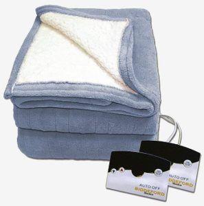 Biddeford Reversible Heated Blanket