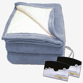 Biddeford Reversible Heated Blanket