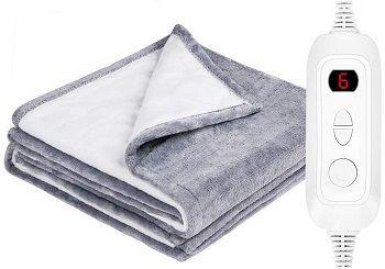 Hokeki SherpaFlannel Electric Blanket