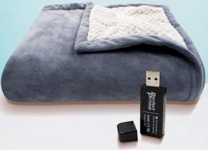 Perfect Prime USB Heated Fleece Blanket review
