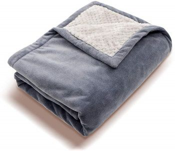 Perfect Prime USB Heated Fleece Blanket