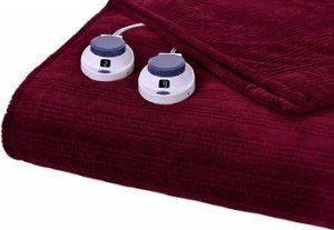 Serta Microplush Heated Blanket