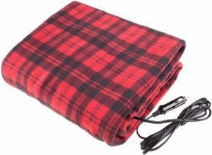 Stalwart 12v Electric Heated Car Blanket