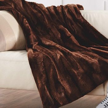 Sunbeam Faux-fur Heated Throw review