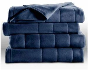 Sunbeam King-size Quilted Fleece Electric Blanket