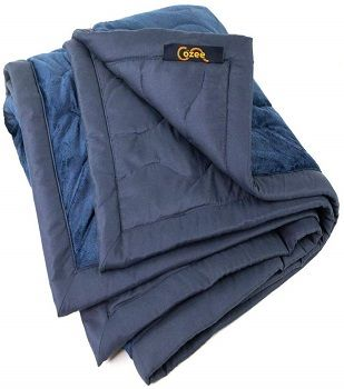 The Cozee Outdoor Fleece Heated Blanket review