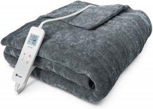 Vremi Fleece Heated Blanket