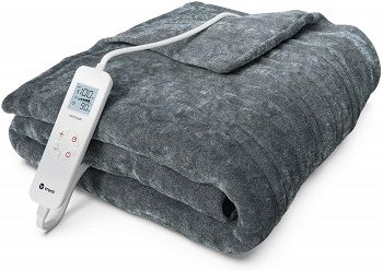 Vremi Fleece Heated Blanket