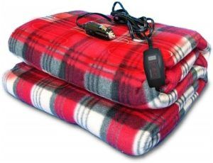 Zone Tech Car Heated Travel Blanket
